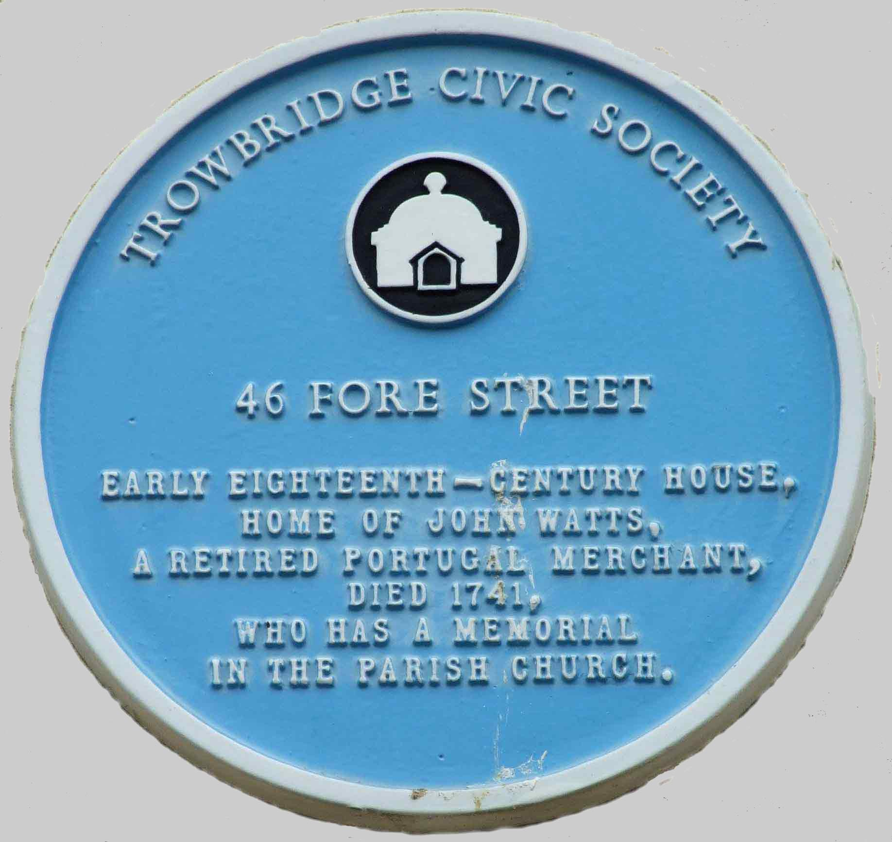 46 Fore Street Copyright - K. J. Hartley