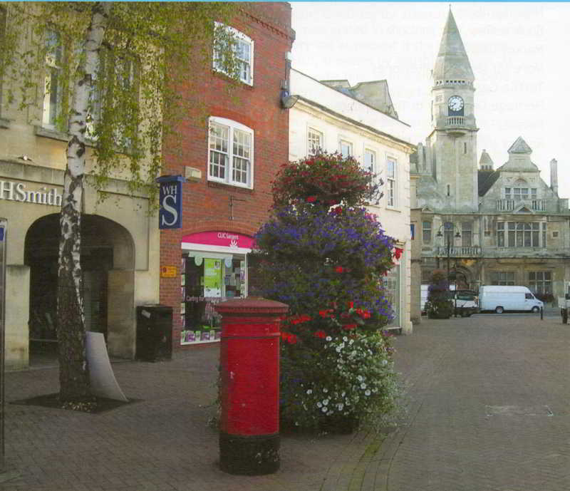 Fore Street looking towards the Town Hall