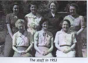 The Staff in 1953