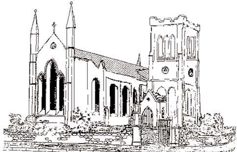 Holy Trinity Church line drawing